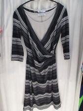 3/4 Arm Damenkleider aus Viskose in Größe 38