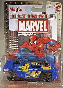 2003 Maisto Ultimate Marvel Die-Cast Series 1 #23/25 SPIDER-MAN OPEN WHEEL RACER