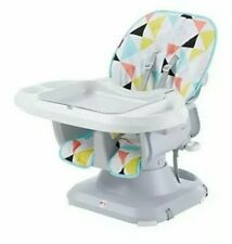 Fisher-Price SpaceSaver High Chair, Multicolor for boys and girls