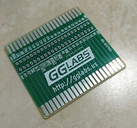GGLABS RISER44 PCB Commodore 64/128 cartridge riser w/ Logic Analyzer Connector