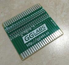 GGLABS RISER44 PCB Commodore 64/128 cartridge riser w/ Logic Analyzer Connector