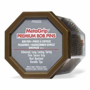 MetaGrip Bronze Premium Bobby Pins