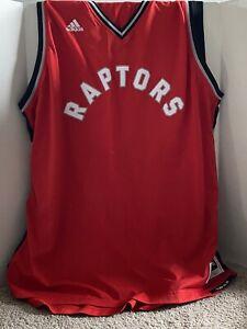 ADIDAS NBA REVOLUTION 30 TORONTO RAPTORS RED AUTHENTIC BLANK JERSEY SIZE 3XL+2