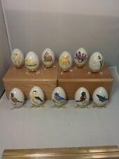 11 Dated Eggs Easter Goebel West Germany 1978 79 80 82 83 85 86 87 88 89 91