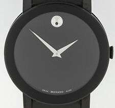 Movado Black PVD Stainless Steel Men's Watch 84 G1 3896.A