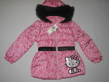 NWT $75 HELLO KITTY  by Sanrio  hoodie jacket GIRL size 4T pink