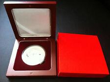 2012 $1 Year Of The Dragon Lunar Bullion Silver Coin In Case