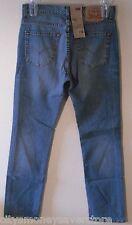 NWT Levis Europe 753 Mens Slim Fit Jeans 31x34 Medium Wash Blue MSRP$78