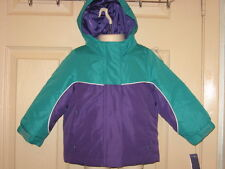 Girls Cherokee 4 in 1 Winter Coat + Removable Inner Jacket Sz 18 Months NWT