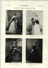 1896 la Regina Vittoria nel Royal ARMADIO St George's Chapel a Windsor 1846