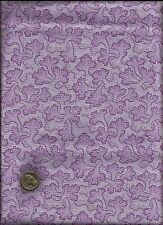 """Ambrosia"" Coral Like Floral Print med grape on lt grape Fabric -P & B (2004)"