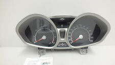 13 2013 FORD FIESTA SE 1.6L AT INSTRUMENT CLUSTER DE8T-10849-CC #789D