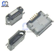 10Pcs USB Micro 5-pin Female Connector Jacks Socket SMD Surface-Mount GM