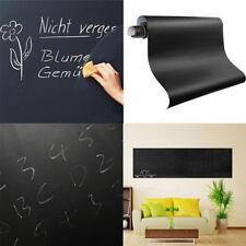Blackboard Removable Vinyl Wall Sticker Chalkboard Decal Board 45x200CM WYS