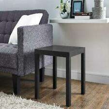 **CURRENTLY UNAVAILABLE** Mainstays Parsons Square End Table, Black