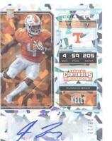 2018 Panini Contenders Draft Picks College Cracked Ice Ticket John Kelly /23 RC