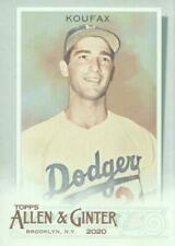 Cartes de baseball Sandy Koufax