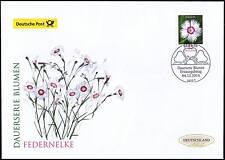BRD 2014: Die Federnelke Post-FDC der Nr. 3116 mit Berliner Ersttagsstempel 1801