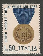 Italy #1136 (A607) VF MNH - 1973 50 L Gold Medal Of Valor, 50th Anniversary