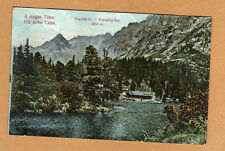 Hohe Tatra,Slowakei Poprader See schöne Ansicht