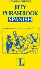 NEW - Jiffy Phrasebook Spanish (Langenscheidt Phrasebooks)