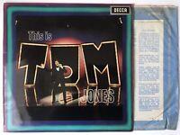 Tom Jones - This Is Tom Jones - Decca - Vinyl LP Record - (295) -