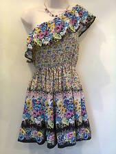 Miss Selfridge Cotton Blend One Shoulder Dresses for Women