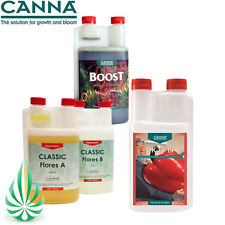 CANNA BOOST ACCELERATOR WITH PK 13/14 HYDROPONIC Classic Flores A+B NUTRIENT KIT