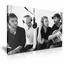 Coldplay Poster Picture Print Canvas Wall Art 76x50cm