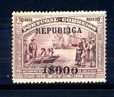 PORTUGAL - PORTOGALLO - 1911 - Vasco da Gama soprastampati con la scritta or.