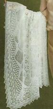 Baby Cobweb Heirloom Wedding Ring Shawl Knitting Pattern  812