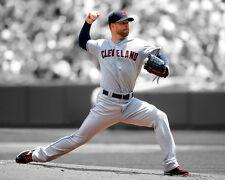 Cleveland Indians COREY KLUBER Glossy 8x10 Photo Spotlight Print Baseball Poster