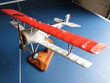 maquette bois Nieuport 17 - Lt Guynemer-1/18 Escadrille cigognes TBE