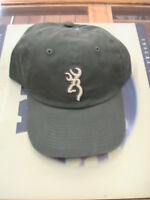 Browning Hat Buckmark Logo & Rubber Wrist Band Browning Ball Cap Baseball Hat