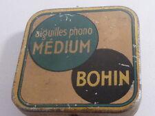BOITE A AIGUILLES POUR GRAMOPHE - BOHIN