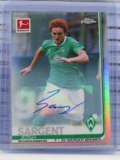 2019-20 Topps Chrome Bundesliga Josh Sargent Refractor Auto Autograph D96