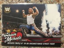 2018 Topps WWE Shawn Michaels Tribute Defeats Triple H Walmart Only #23