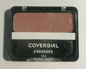 Covergirl CHEEKERS BLUSH 183 Natural Twinkle  *SEALED*