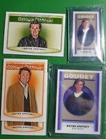 (5) 2019 UD Goodwin Champions Wayne Gretzky LOT! Goudey Lenticular 3D SP, Mini