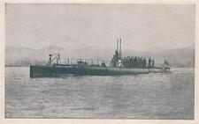 A9730) WW1 MARINA, IL SOMMERGIBILE FOCA.