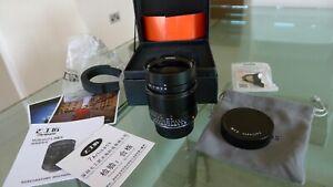 "Leica ""M"" Mount fit - 7Artisans 28mm f/1.4 Lens."