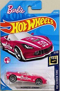 Hot Wheels barbie '14 corvette Stingray