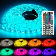 5m LED Strip RGB Band 5050 SMD LED Lichterkette Licht Leiste Streifen 60 LED/m
