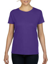 LADIES HEAVY COTTON T-SHIRT - Gildan 100% Cotton Womens Female TEE (18 Colours)
