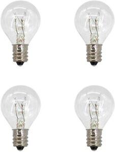 4 Pack Wax Warmer Bulbs. 20 Watt/ Middle Size Scentsy Warmers,G30 Globe