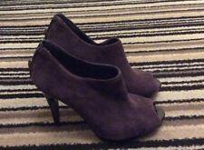 Nine West Gamuza Zapato Bota UK 3 nosotros tamaño 5 1/2.