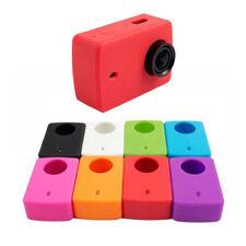 Silicone Case Soft Protective Cover Lens Cap For Xiaomi Xiao Yi 2 II 4K Camera O