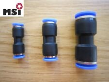 Steckverbinder reduziert Pneumatik Druckluft wie IQS Schlauchverbinder ab 1 €