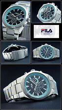 Fila Large Classy Men Chronograph Watch Japan Movement! Good Readable New