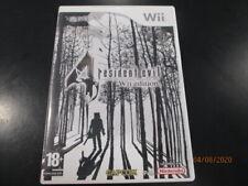 Jeu Nintendo Wii - Resident Evil 4: Wii Edition - PAL FR - Complet
